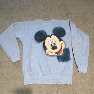 Disney Mickey Mouse Adult Sweatshirt